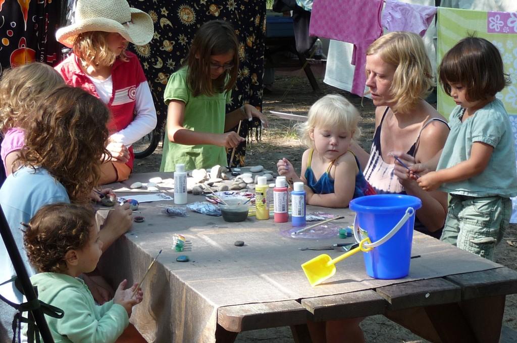 The children were always up to some fun