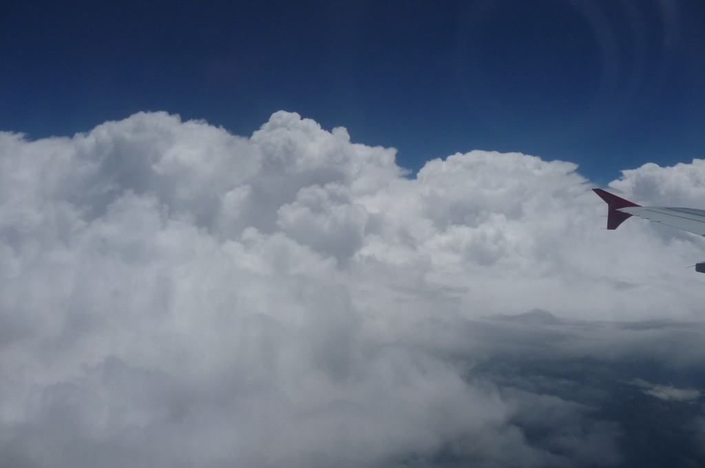I can't resists pictures of clouds from the airplane window