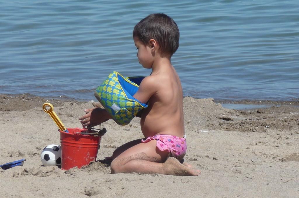 Beach on lake Simcoe