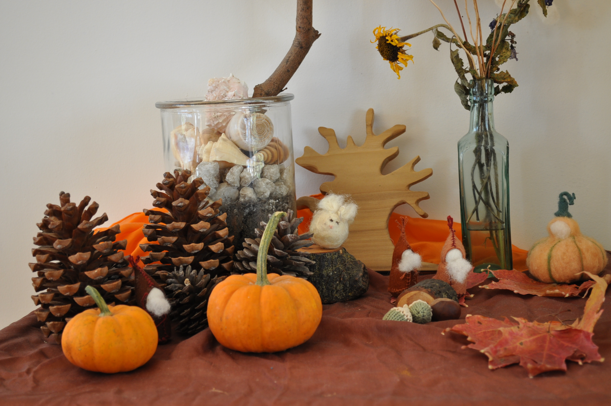 Autumn Nature table