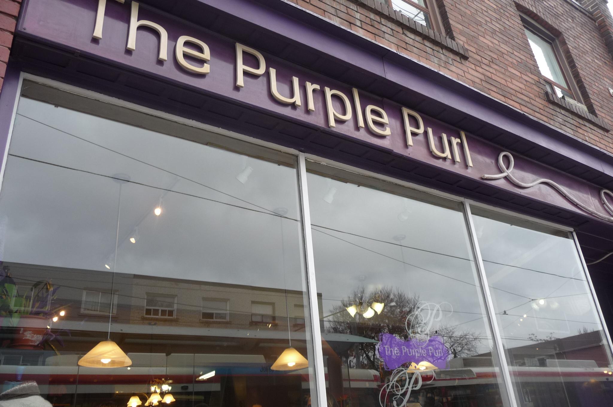 The purple purl