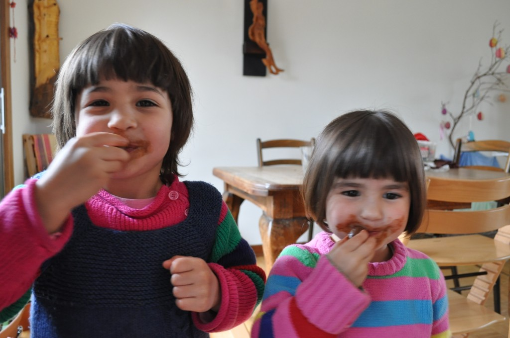 chocolate faces