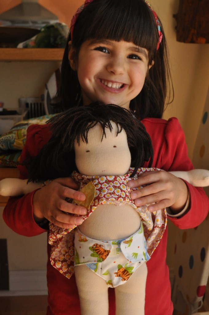 doll with nappy