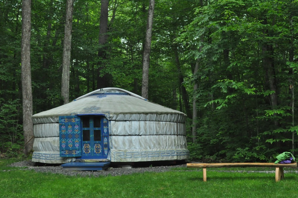 yurt - close view